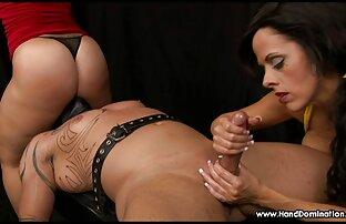 Fille maigre sex porn gratui sexy en lingerie noire, belle chatte et jeu de cul.